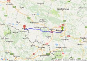 Trasa Sosnowiec - Prudnik
