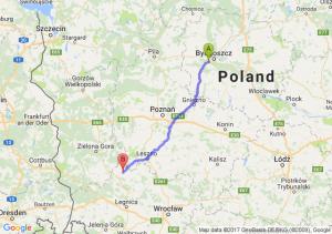 Trasa Białe Błota - Głogów