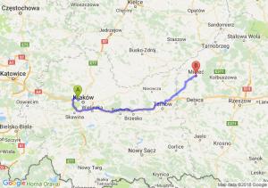 Trasa Bronowice - Mielec