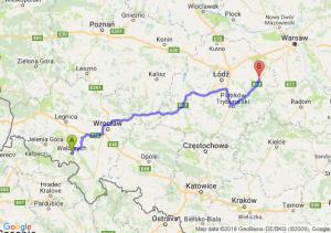 Trasa Wałbrzych - Rawa Mazowiecka