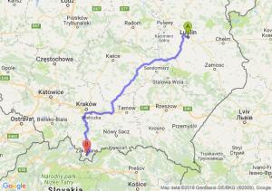 Lublin - Zakopane