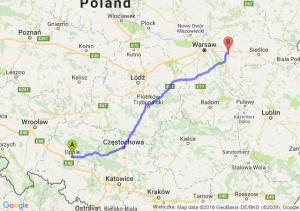 Opole - Mińsk Mazowiecki