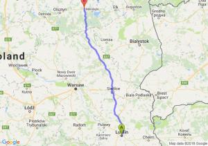 Lublin - Mrągowo