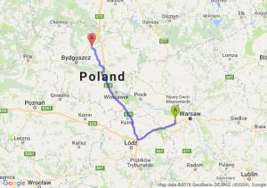 Trasa Błonie - Chełmno
