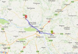 Trasa Mińsk Mazowiecki - Siedlin