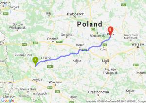 Trasa Głogów - Płock