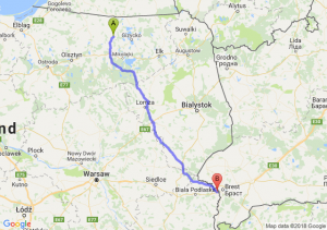Kętrzyn - Terespol