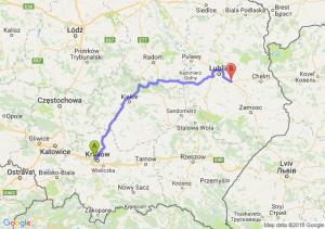 Trasa Bronowice - Kębłów