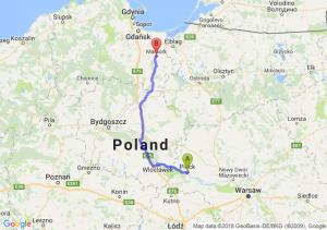 Płock - Malbork