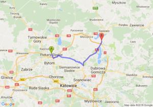 Trasa Piekary Śląskie - Podwarpie