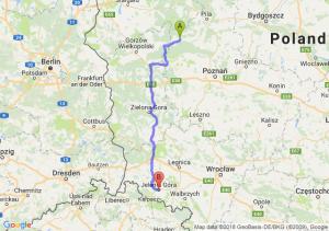 Wieleń - Jelenia Góra