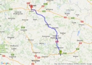 Trasa Kępno - Luboń