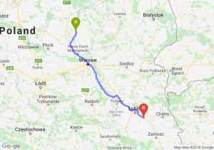 Trasa Ciechanów - Piaski