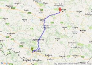 Trasa Gliwice - Pruszków