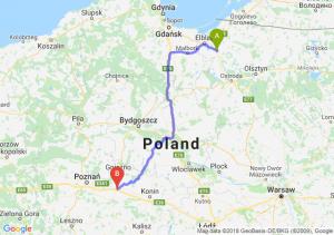 Trasa Pasłęk - Września