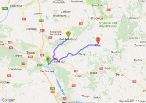 Golub-dobrzyń (kujawsko-pomorskie) - Osiek (kujawsko-pomorskie) - Rypin (kujawsko-pomorskie)