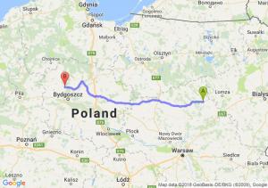 Ostrołęka - Koronowo