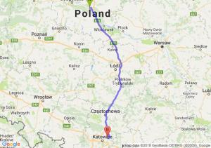 Trasa Toruń - Dąbrowa Górnicza