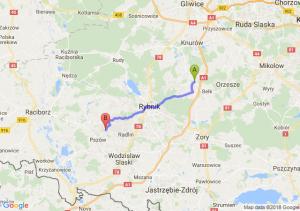 Trasa Czerwionka-Leszczyny - Rydułtowy