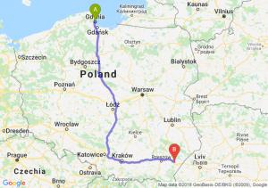 Trasa Gdynia - Jarosław
