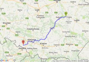 Trasa Bąkowiec - Rzuchów