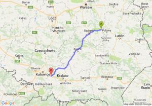 Trasa Bąkowiec - Chrzanów