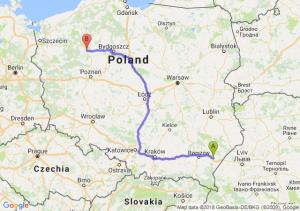 Trasa Jarosław - Piła