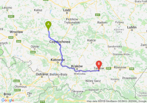 Trasa Wieluń - Tarnów