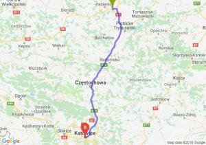 Trasa Rzgów - Katowice