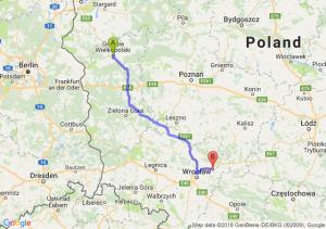Gorzów Wielkopolski - Oleśnica