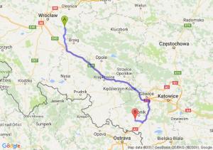 Jelcz-Laskowice (dolnośląskie) - Radlin (śląskie)