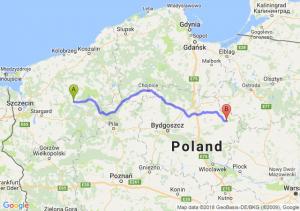 Drawsko Pomorskie - Brodnica