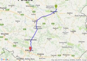 Radzymin - Sosnowiec