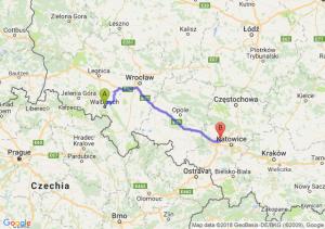 Trasa Wałbrzych - Zabrze