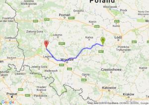 Sieradz - Polkowice