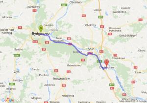 Bydgoszcz - Ciechocinek