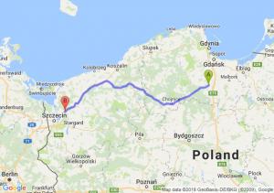 Starogard Gdański - Goleniów