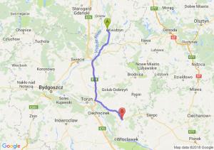 Trasa Kwidzyn - Lipno