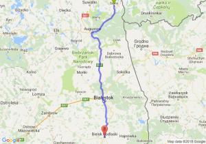 Sejny - Bielsk Podlaski