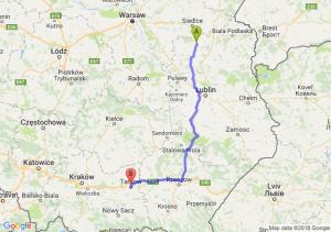 Trasa Łuków - Tarnów