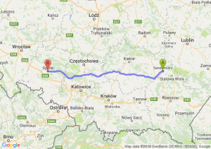 Sandomierz - Opole