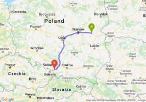 Siedlce - Pawłowice