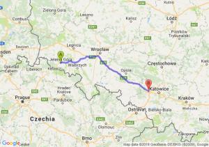 Jelenia Góra - Gliwice