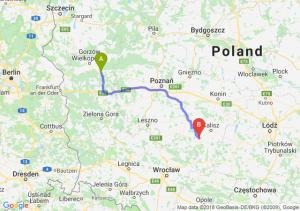 Skwierzyna - Ostrów Wielkopolski