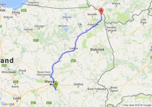 Trasa Karczew - Sejny