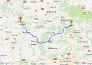 Trasa Nisko - Staszów