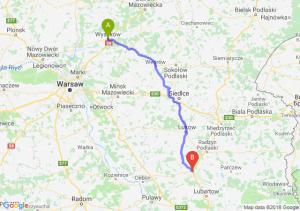 Trasa Wyszków - Kock