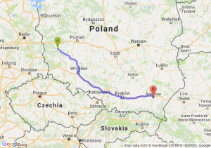 Sulechów - Rzeszów