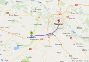 Kąty Wrocławskie - Wrocław