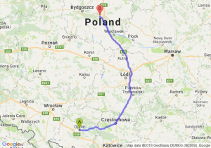 Opole - Toruń